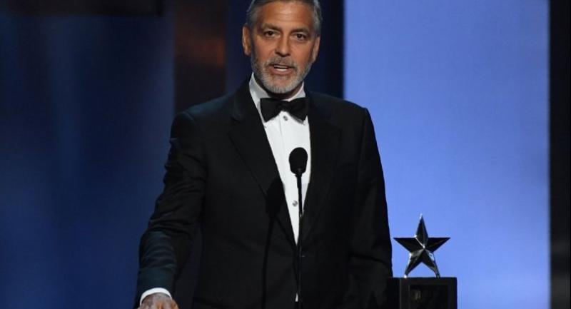 File photo : George Clooney//AFP