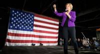 US Senator Elizabeth Warren//AFP