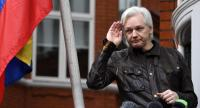 File photo : Wikileaks founder Julian Assange//EPA-EFE