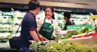 Former educator Chayasamon Subsookbovorn, 61, has a new career working at Tesco Lotus' Laksi branch. She's among 1,200 seniors brought back into the workforce since mid-March under a Labour Ministry programme. The target for the year is 100,000.