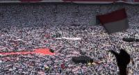 Thousands of supporters of President Joko