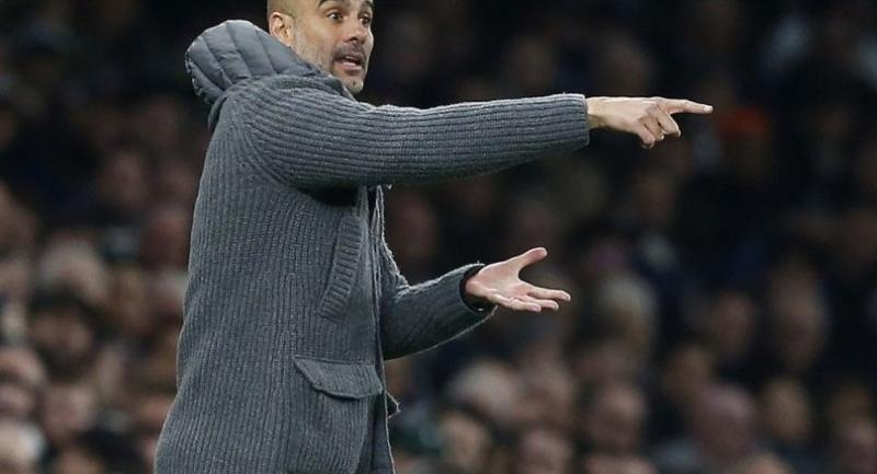 Manchester City's Spanish manager Pep Guardiola / AFP