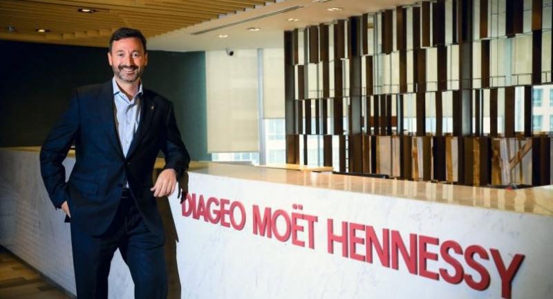 Alberto Ibeas, managing director of Diageo Moet Hennessy (Thailand)