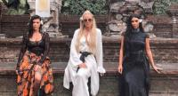 Kourtney, Khloe and Kim Kardashian (from left to right) during their Bali vacation in October last year. (instagram.com/kimkardashian/File)
