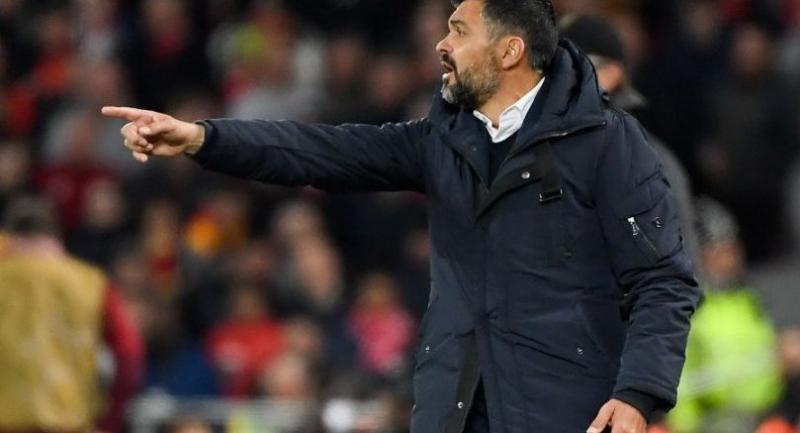 Porto's Portuguese coach Sergio Conceicao / AFP