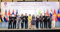 Opening Ceremony of the 25th Asean Economic Ministers' Retreat in Phuket yesterday.