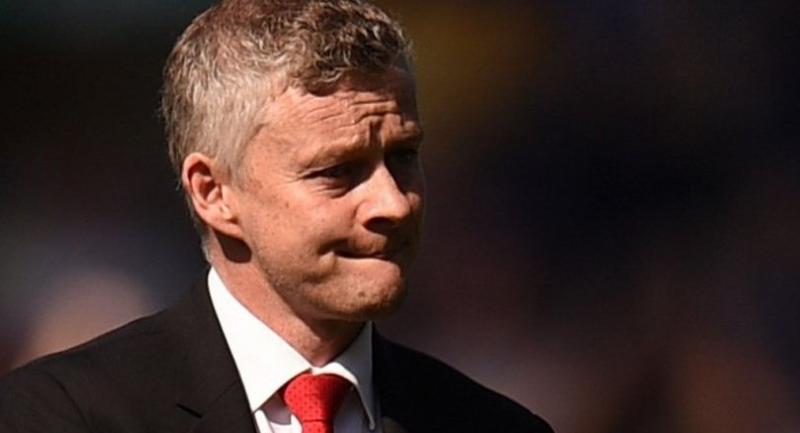 Manchester United's Norwegian manager Ole Gunnar Solskjaer. / AFP