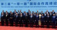 Heads of states during the family photo of the heads of the delegations of the participating countries of the Second Belt and Road Forum for International Cooperation (BRF) in Beijing, China on April 27.//EPA-EFE