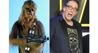 Right photo : Actor Peter Mayhew//EPA-EFE