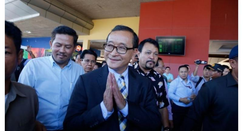 File photo : Sam Rainsy