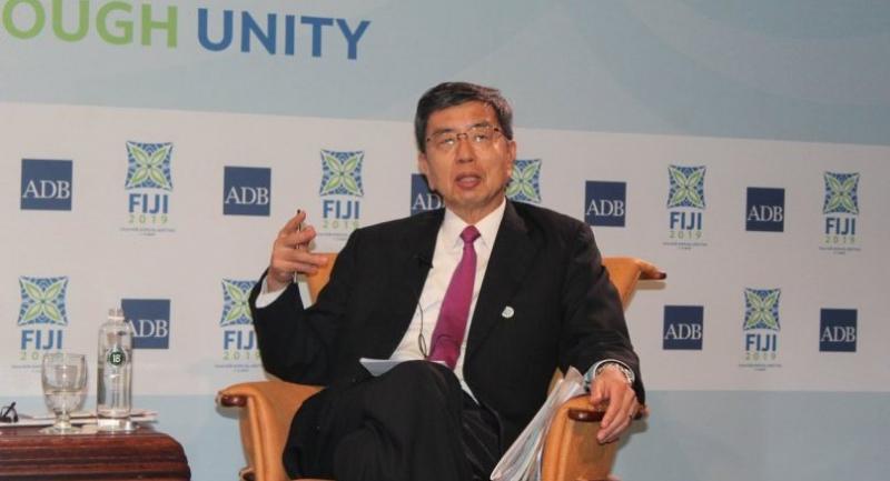 ADB chief Takehiko Nakao
