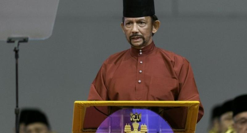 File photo : Sultan of Brunei Hassanal Bolkiah//EPA-EFE