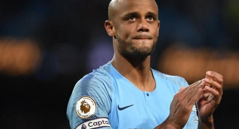 Manchester City's Belgian defender Vincent Kompany / AFP