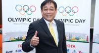 Pichai Chunhavajira Chairman of Organising Committee of 2019 Olympic Day Walk and Run.