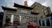 Districts including Chinatown will be spruced up ready for Havana's 500th birthday and residents are keen to work with the authorities to restore a sense of former glory./AFP