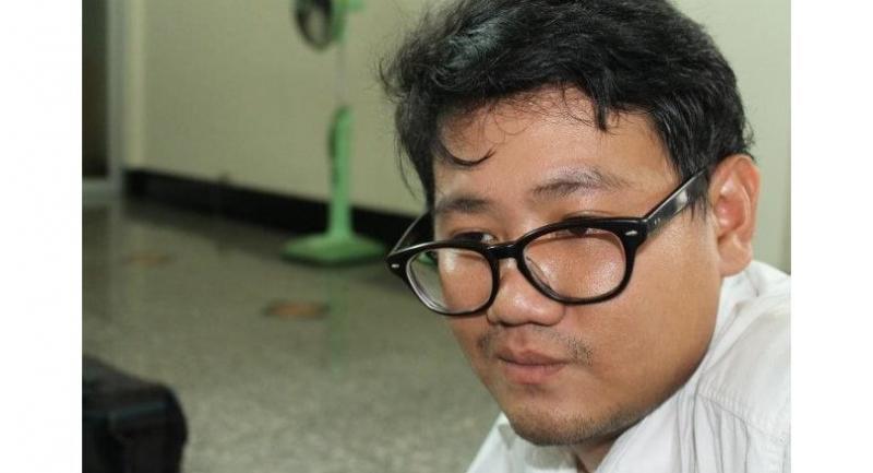 Activist Siam Theerawut/ picture: PRACHATAI