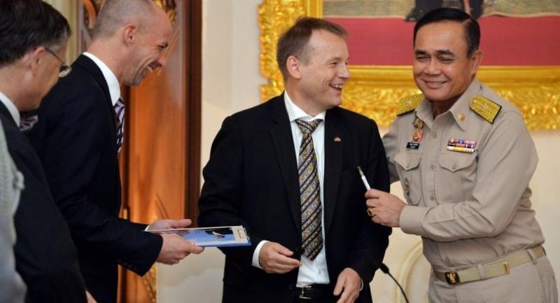 New German Ambassador Pm Prayut Agree To Strengthen Cooperation On Several Fronts