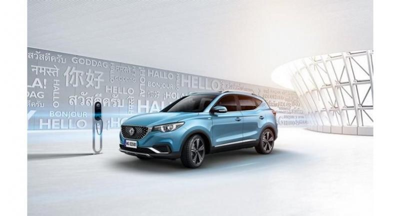 MG's ZS compact electric vehicle will be launched in Thailand on June 20.