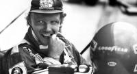 Picture taken on July 22, 1977 shows Austrian Formula One pilot Niki Lauda during a training at the Hockenheim circuit in Hockenheim, southern Germany. //AFP