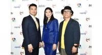 """Dr Anthony Park, left, Supichaya Lee, centre, and Man Bae Choen are all set to discover new stars in the reality show """"Battle of Dreams""""."""