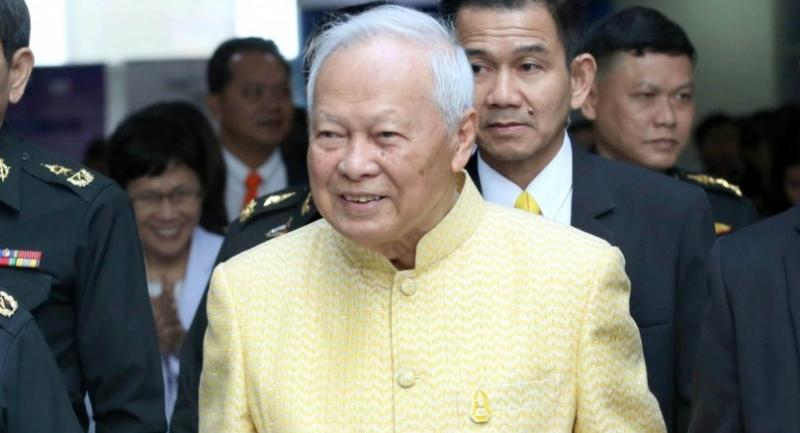 File photo: General Prem Tinsulanonda Privy Counil President