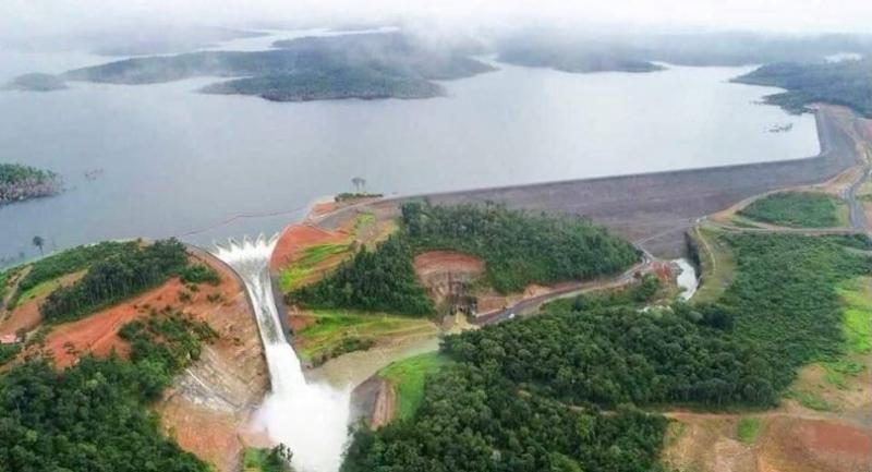 File photo: Xe-Pian Xe-Namnoy hydropower dam