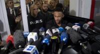 Brazil's star striker Neymar