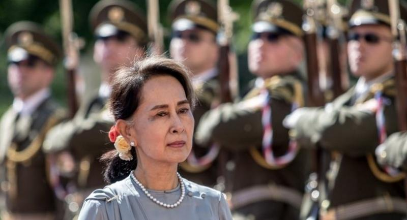 File photo : State Counsellor Aung San Suu Kyi//EPA-EFE