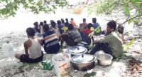 These Rohingya were spotted on Satun's Rawi Island on Tuesday. A probe is underway to determine whether they are humantrafficking victims.