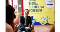 Nuttapon Nimmanphatcharin, president and chief executive officer of The Digital Economy Promotion Agency (DEPA)