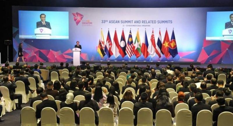 File photo : Asean summit 2018