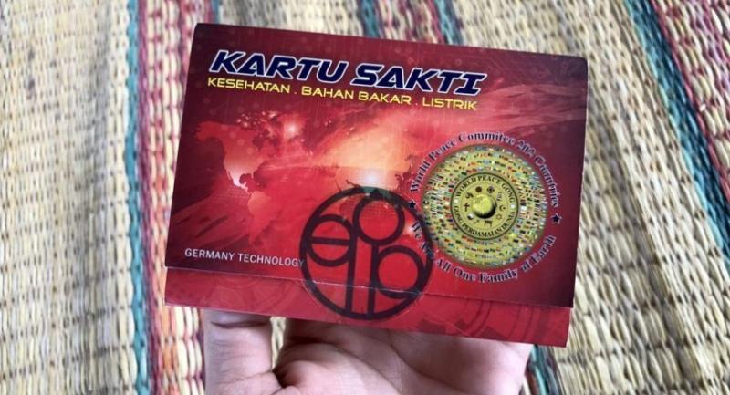Energy cards
