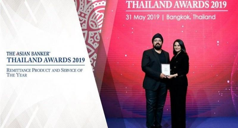 Aswin Phlaphongphanich, CEO, DeeMoney and Rasmegh Srisethi, Managing Director of DeeMoney received the prestigious Asian Banker Excellence in Retail Financial Services Awards 2019.