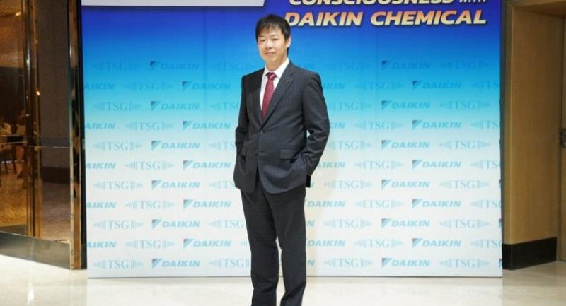 Takeshi Konishi, president of Daikin Chemical South East Asia Co Ltd