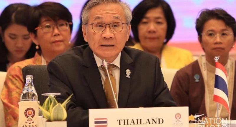 File photo : Thai Foreign Minister Don Pramudwinai