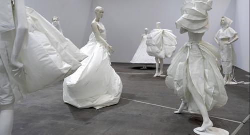 "The artwork ""Life Dress"" (2018) by Barcelonaborn and Amsterdam based artist Alicia Framis. /EPA-EFE"