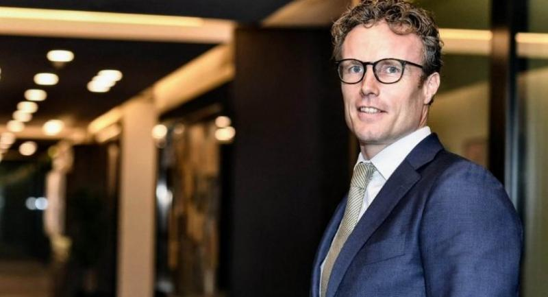 Joost Bilkes, head of the Asia Pacific region, for the impact advisory and finance department at Credit Suisse