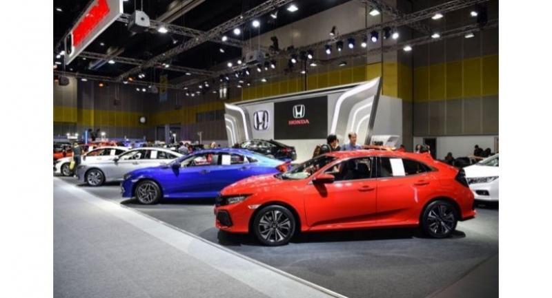 Latest Honda Models On Show In Bangkok
