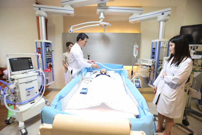 Intensive Care Unit 3 (ICU 3)  for critical pediatric patients, aged from 1 month to 15 years.