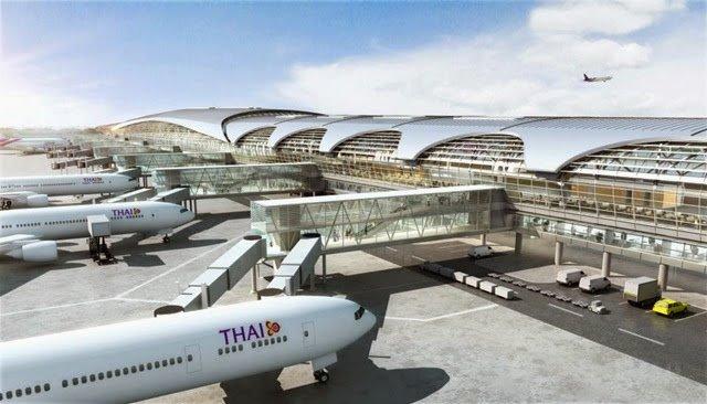 The Suvarnabhumi Airport