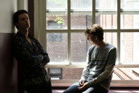 "Miles Robbins (right) and Patrick Schwarzenegger star in ""Daniel Isn't Real."" (BIFAN)"