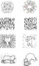 """""""Super High Spirit Cat"""" emoji(left) and Kakao`s emoji"""