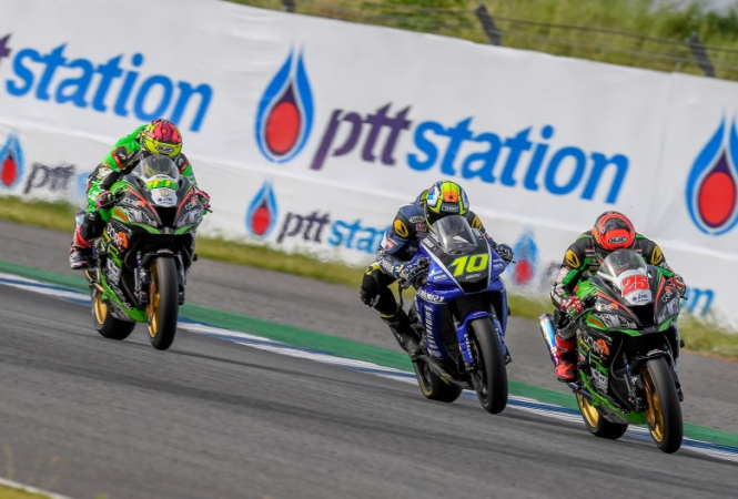 The country's top riders will be battling it out at the Chang International Circuit in Buriram on Sunday.