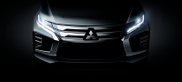 The facelifted Pajero Sport will be unveiled on July 25.
