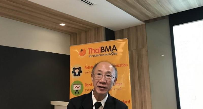 Tada Phutthitada, president of the Thai Bond Market Association (ThaiBMA).