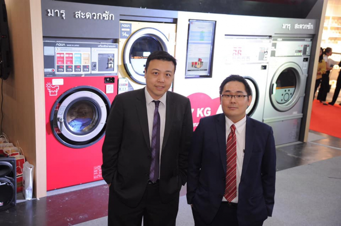 Maru Laundry takes coin-operated laundry machines into new era