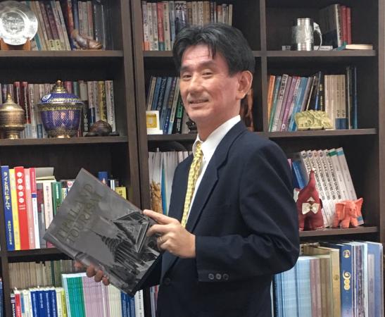 Atsushi Taketani brings a scholarly background to his role as president of Jetro Bangkok.