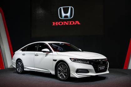 Special version of the Honda Accord at this year's Bangkok Auto Salon.