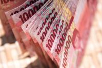Rupiah banknotes (Shutterstock.com/Maciej Matlak)