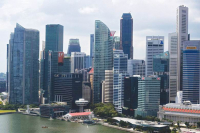 Singapore's economy grew 0.1 per cent in the second quarter, raising bets of a recession and monetary policy easing. (Photo: ST FILE)